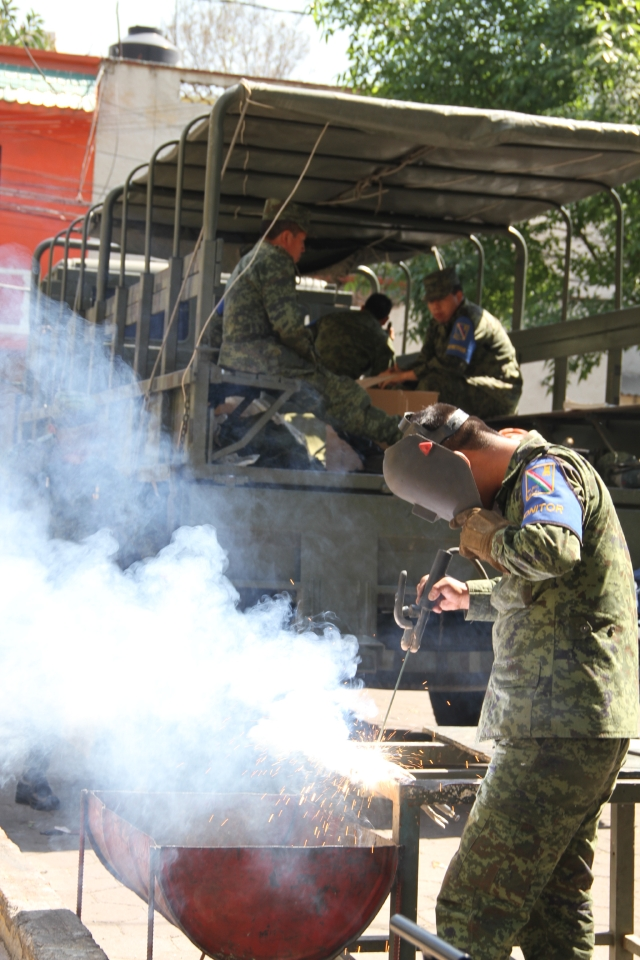 Desarme en México favorecido por la  fe