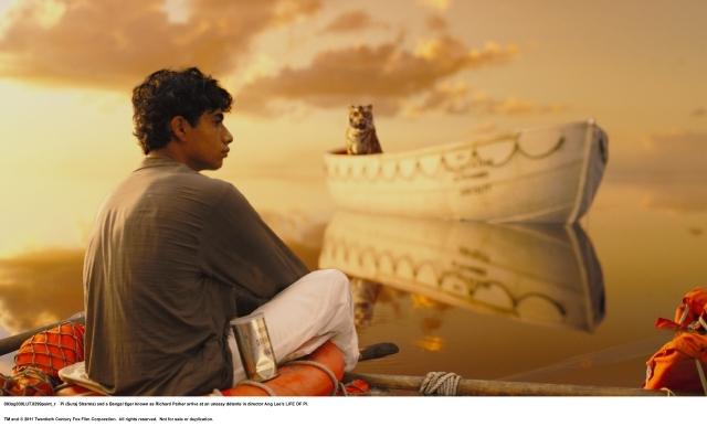 El director de fotografía  Claudio Miranda  recibió el Oscar por 'Life of Pi' .