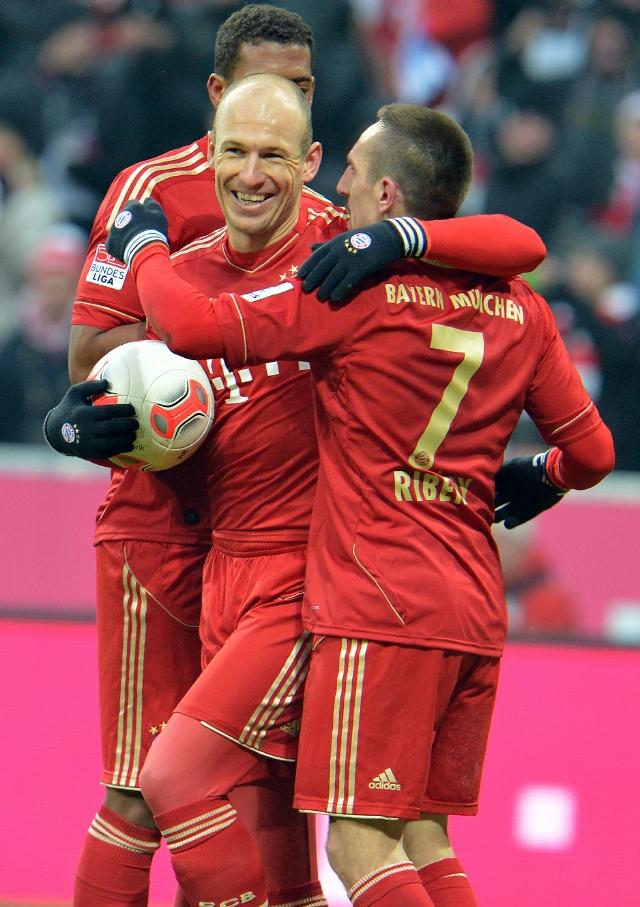 Bayern arrolla  6-1 al  Bremen