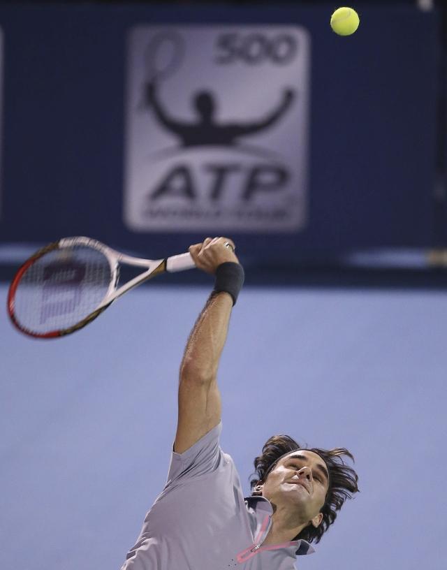 Federer pasa gran susto