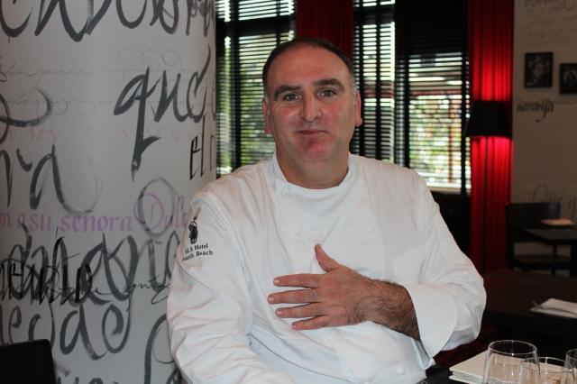 Chef José Andrés apuesta por coctelería