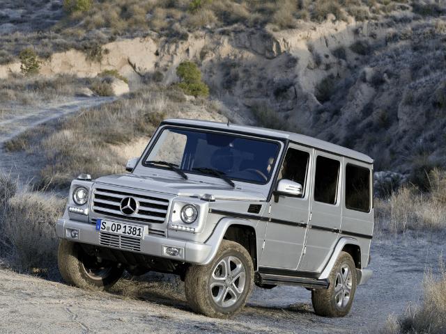 El Mercedes-Benz G-Class es un automóvil todoterreno