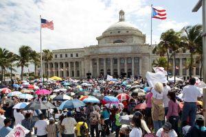 """Marchan en Puerto Rico a favor de """"estadidad"""""""