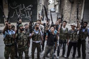 Dura lucha en guerra de Siria