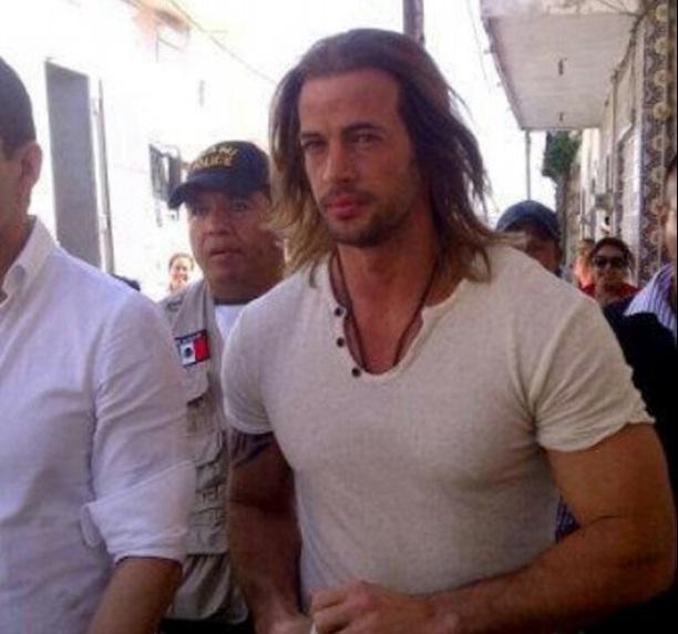 Levy se dejó ver por las calles de Alvarado, Veracruz