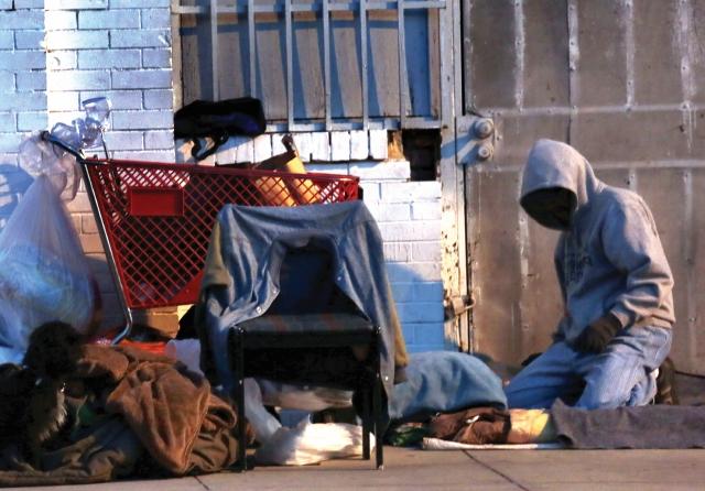 Sube el 58% los delitos con víctimas o sospechosos indigentes en Los Ángeles