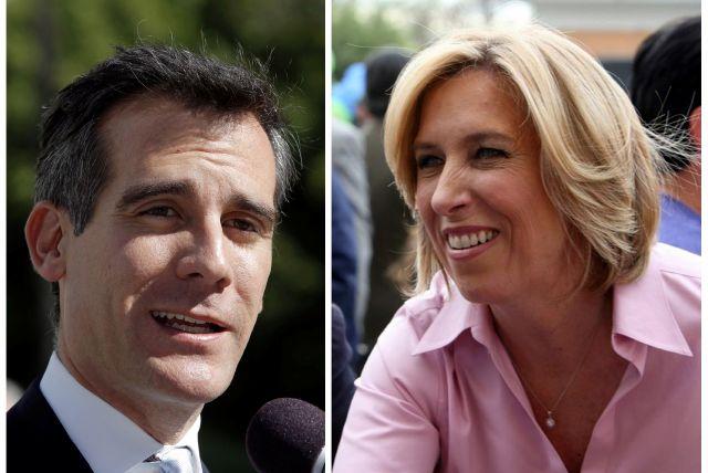 Eric Garcetti y Wendy Greuel se est'an preguntando ya qué hacer para ganar la segunda vuelta de las elecciones en Los Ángeles.