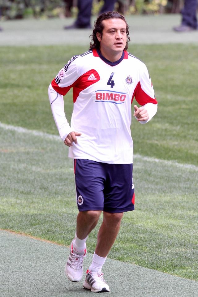 Héctor Reynoso podría jugar el domingo ante Pachuca.