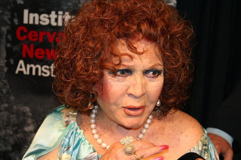 La actriz y cantante españoña Sara Montiel.