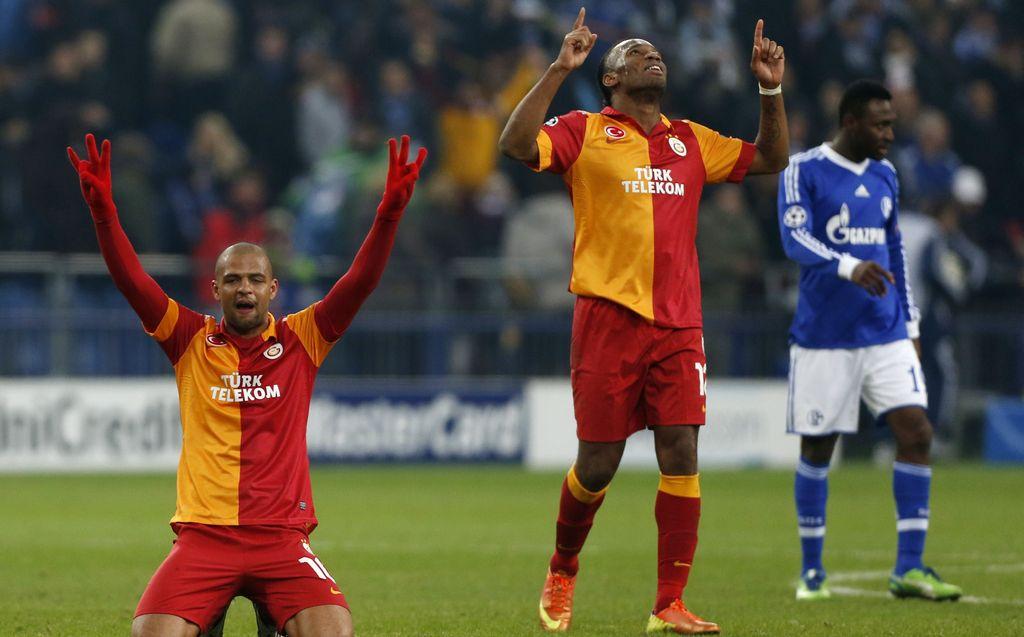 Un triunfo también en remontada sobre el Shalke alemán, colocó hoy al Galatasaray turco en los cuartos de final de la Champions League.