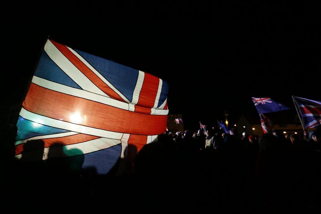 El 99.8 por ciento de la población eligió mantenerse como colonia británica.