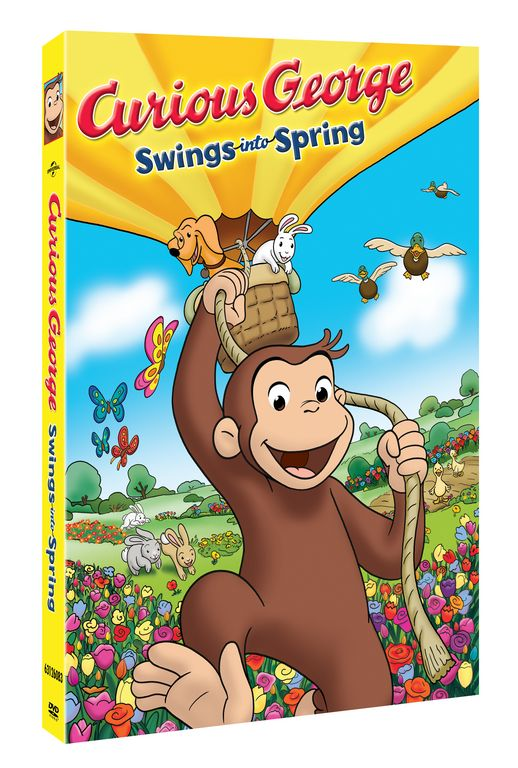 Curious George viene a alegrar la primavera