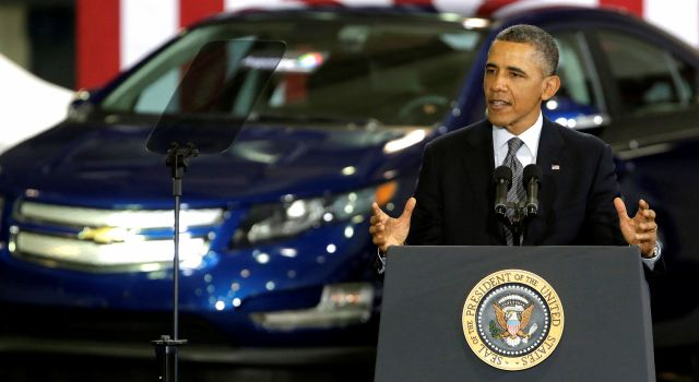 Obama pide desarrollar autos que no usen gasolina (video)