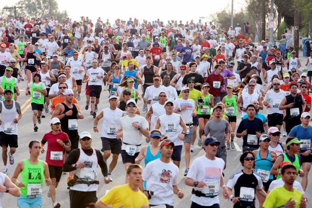 Cerrarán calles en la ruta del maratón de Los Ángeles