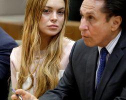 Lindsay Lohan es sentenciada a rehabilitación