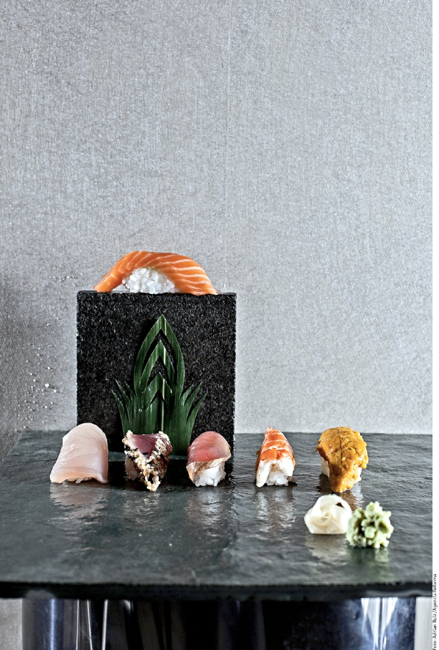 Así es el auténtico sushi