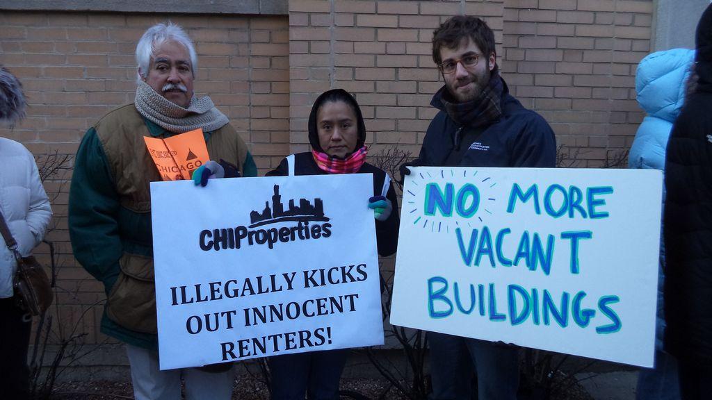 Inquilinos defienden sus derechos ante CHIProperties
