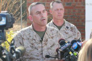 Marines frenan prácticas con morteros tras accidente fatal