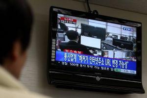 Redes de bancos y medios se desploman en Corea del Sur