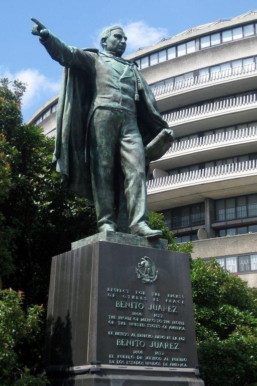 Benito Juárez no requiere caballo