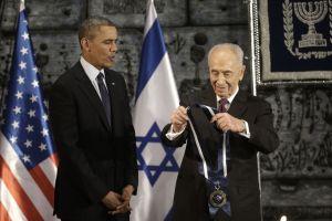Israel concede medalla a Obama