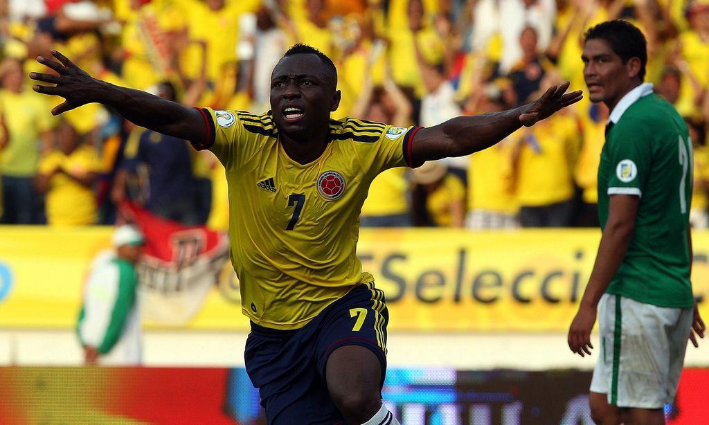 Colombia golea a Bolivia en Barranquilla (Fotos)