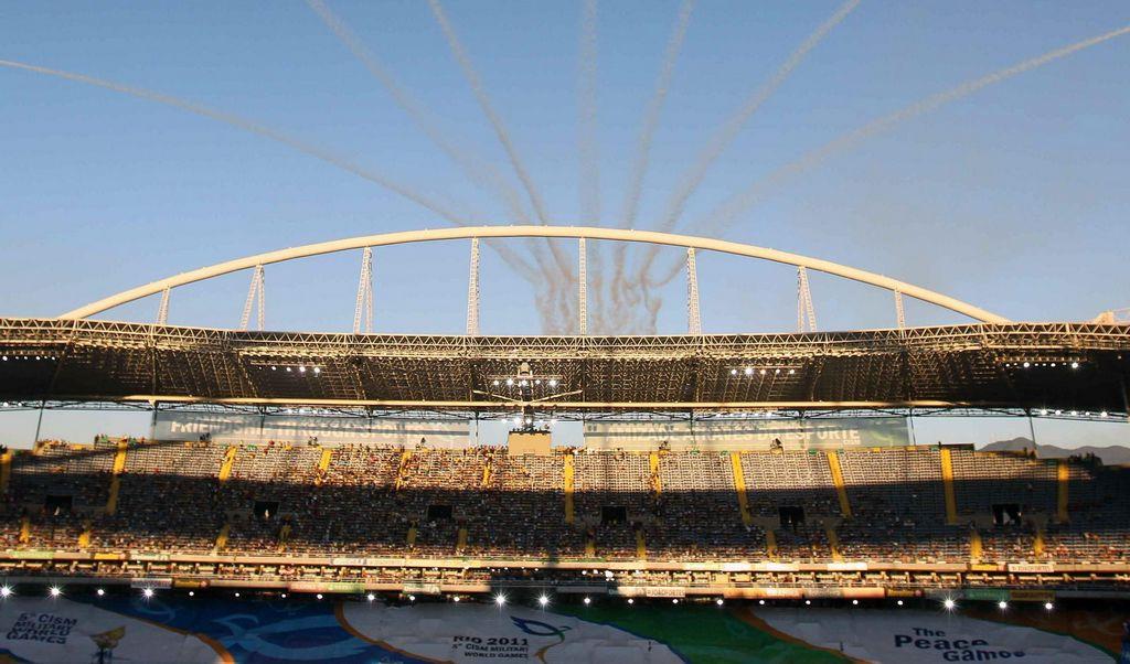Clausuran estadio olímpico de Río de Janeiro