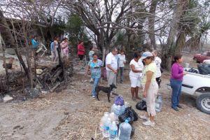 Autoridades controlan incendios en San Luis Potosí