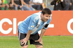 Messi vomitó en el duelo ante Bolivia
