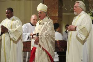 El cardenal DiNardo agradece el Papa al inicio de Semana Santa