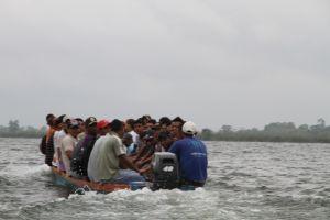 Inmigrantes requieren valor para cruzar a México