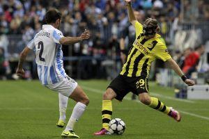 Triste empate con Borussia sentencia al Málaga (Fotos)