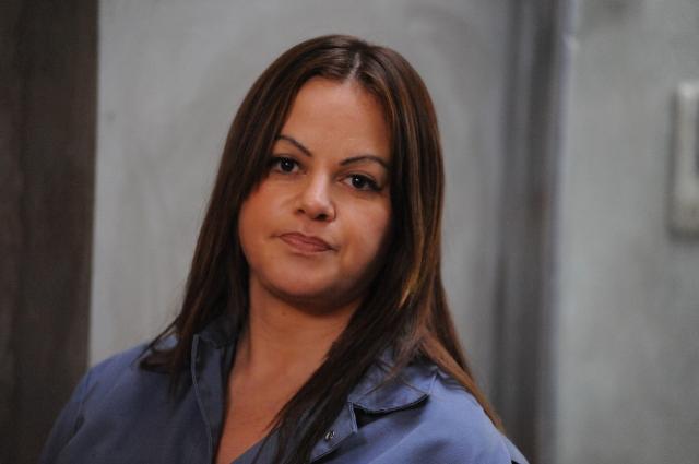 Jenni Rivera da vida a María, una presidiaria con secretos, en 'Filly Brown'.