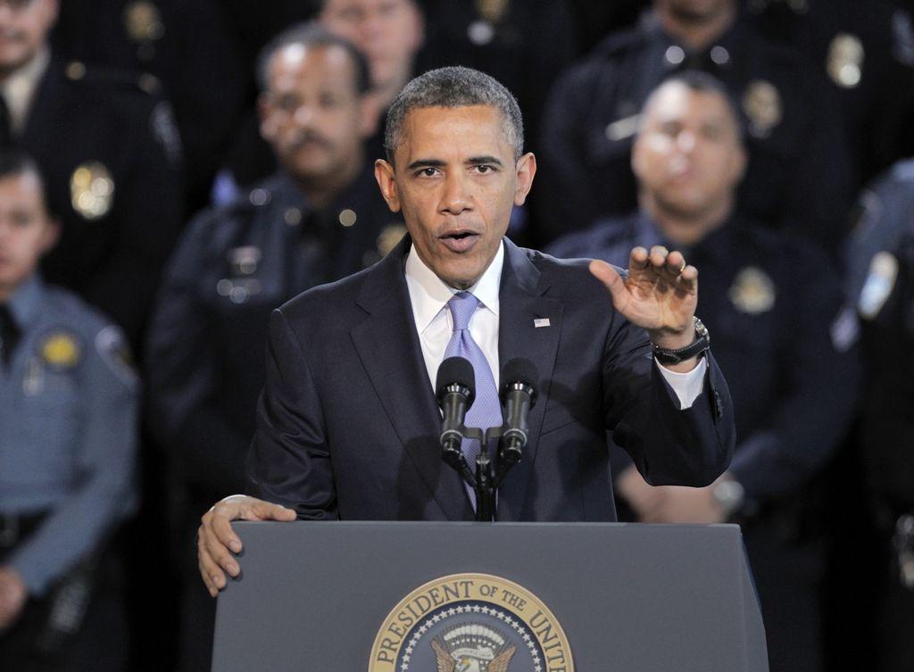El presidente Obama asisitió a Colorado.