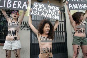 "Mujeres del mundo se unen a ""guerra santa"" por Amina"