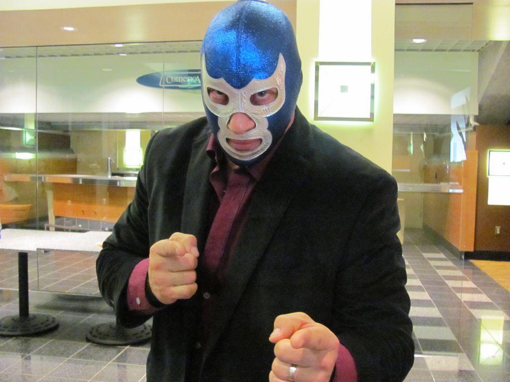 Blue Demon Jr. en San José