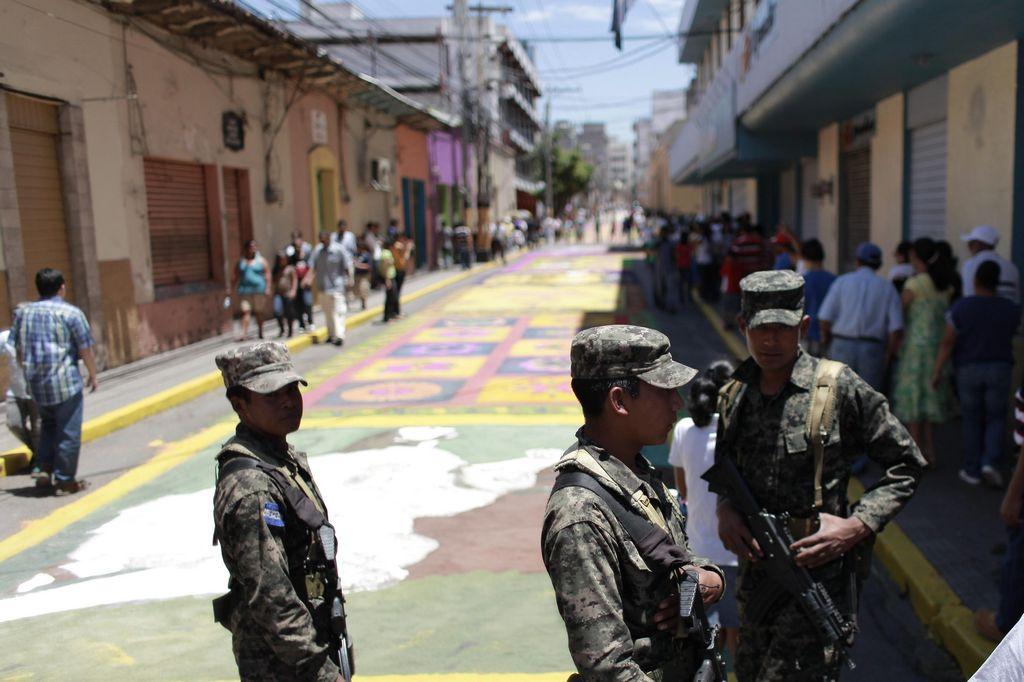 Honduras es uno de los países más violentos