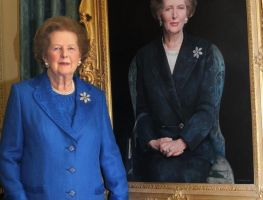 Margaret Thatcher, la dama de hierro (Fotos)