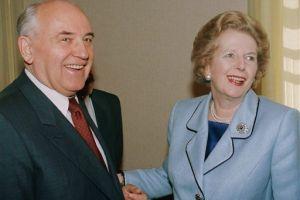 """Gorbachov: Margaret Thatcher fue """"una gran política"""""""