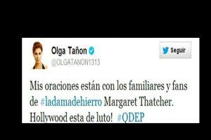 Olga Tañón, Cher y Taiwán se enredan con Thatcher