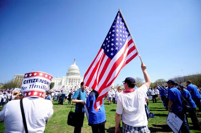 Inmigrantes piden en Capitolio reforma migratoria con ciudadanía