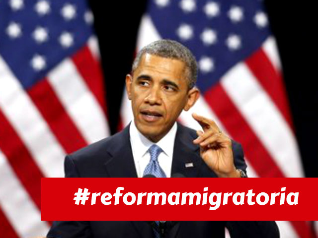 Cobertura del movimiento por la reforma migratoria en redes sociales