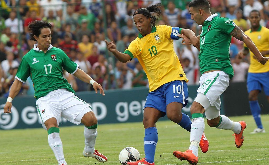 Ronaldinho quiere jugar en Brasil 2014 (Video)