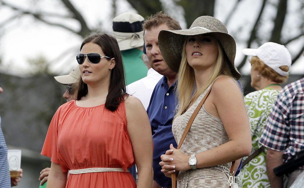 Novia de 'Tiger' lo apoya en Augusta