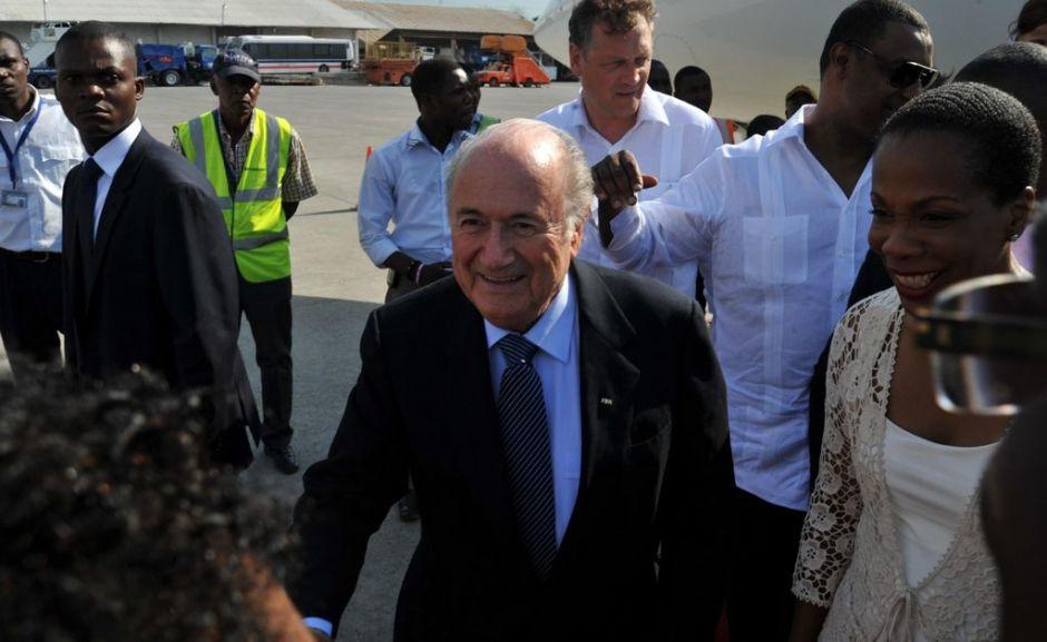 Joseph Blatter llegará hoy a Cuba