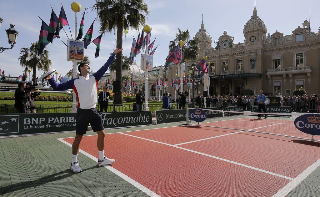 Djokovic jugará el Másters de Montecarlo (Video)