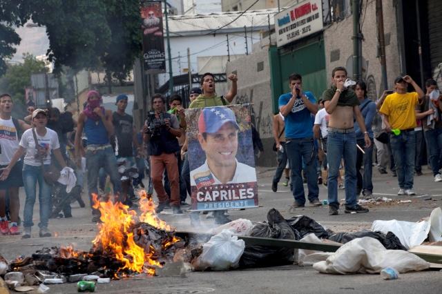 Malestar en Venezuela
