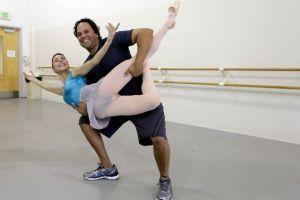 Piazza, de pelotero a aficionado al ballet (fotos)