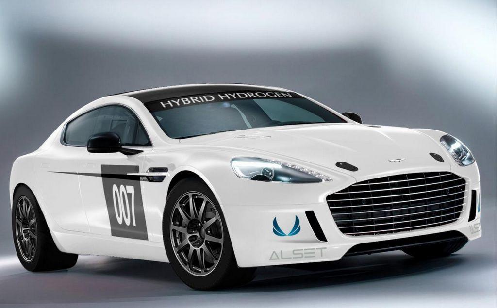 El circuito considerado el más difícil del mundo recibirá al Aston Martin Rapide S Hybrid Hydrogen.