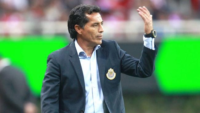 Benjamín Galindo, director técnico de Chivas.